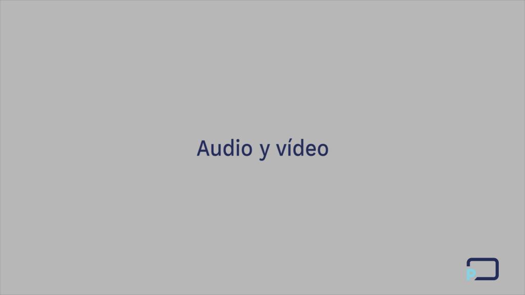 Curso control escénico avanzado audio, vídeo y conexión